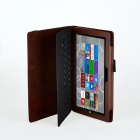 Protection simili cuir Stand Case for Microsoft Windows Surface Pro 3 12'' - Brown