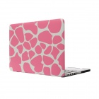 "Hat-Prince Pink Deer Skin Pattern Full Body Matte Case for MacBook Pro 15.4"" w/ Retina Display"