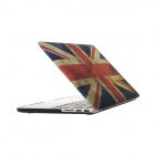 "Hat-Prince UK Flag Pattern Full Body Matte Case for MacBook Pro 15.4"" w/ Retina Display - Multicolor"