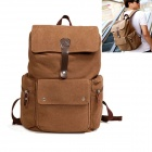 ZIQIAO-303 Leisure Canvas Backpack / Travel Backpack - Khaki