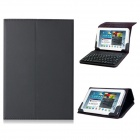 "7""~8"" Artificial Leather Flip Case w/ Built-in Bluetooth Keyboard for IPAD MINI, Android Tablet PCs"