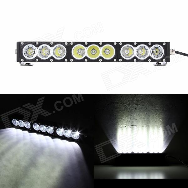 MZ 17 90W 7200LM 6500K Spot Beam LED Worklight Bar Offroad 4WD SUV Driving Lamp mz 10w 800lm blue light spot beam led worklight offroad 4wd suv driving lamp