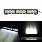 "MZ 17"" 90W 7200LM 6500K Cree XM-L U2 Spot Beam LED Worklight Bar Offroad 4WD SUV Driving Lamp"