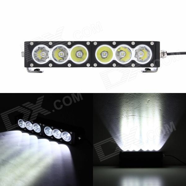 MZ 12 60W 4800LM Spot Beam LED Worklight Bar Offroad 4WD SUV Driving Lamp mz 10w 800lm blue light spot beam led worklight offroad 4wd suv driving lamp