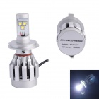 H4 30W 3000LM 6500K 3xCREE-XM-L2 White Light LED Distance Light Fog Light for Truck Car (DC12~24V)