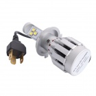 H4 30W 3000LM 6500K 3-LED White Distance Light Fog Light for Truck Car (DC12~24V)