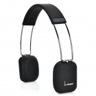 VEGGIEG V6200 Blutooth 4.0 + EDR Wireless Stereo Headband Style Headphone w/ Microphone - Black