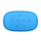 Kemico Hi-Fi 3D Pro Smart Portable NFC Bluetooth Subwoofer Speaker w/ Touch Key + Hands-free - Blue