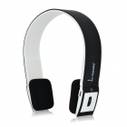 VEGGIEG V6100 Bluetooth V4.0 + EDR Headphone w/ Microphone - Black + White