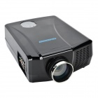 VisionTek XP728LUWS LCD HD Home Projector w/ Dual HDMI / Dual USB / LED - Black