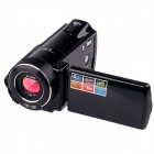 "HDV-C9 3.0"" TFT Max. 20MP Camcorder w/ 8X Digital Zoom + 2 x LED + Remote Control - Black"