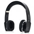 VEGGIEG V8100 Blutooth 4.0 + EDR Wireless Stereo Headphone w/ Microphone - Black