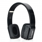 VEGGIEG V8200 Blutooth 4.0+ EDR Wireless Stereo Headband Style Headphone w/ Microphone - Black