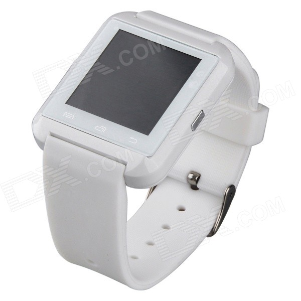 AOLUGUYA HW01 1.44 Bluetooth Smart Watch w/ Altimeter / Call / Alarm for IPHONE + More - White wireless service call bell system popular in restaurant ce passed 433 92mhz full equipment watch pager 1 watch 7 call button