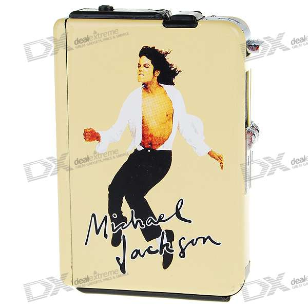 2-in-1 Cigarette Case with Butane Jet Torch Lighter - MJ (Holds 10 Cigarettes)