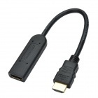 CHEERLINK Female to Male HDMI Extender / Repeater - Black