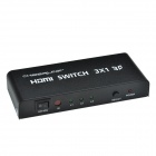 CHEERLINK L3HDSW0301 3 em 1-Out Full HD 3D 1080P HDMI 1.4 Switch w / controle IR - preto