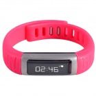 AOLUGUYA CM01 Bluetooth Bracelet Smart Watch for IPHONE + More - Black + Red