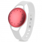 IM-1 Bluetooth V4.0 Intelligent Pedometer Wrist Band w/ Motion Record / Sleep Monitor - White + Red