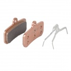 WARDER WDB-01-3-SI DIY Replacement Copper Base Alloy Bike Bicycle Brake Block Pads - Champagne