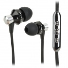 AWEI S950Vi 3.5mm In-Ear Earphones w/ Microphone for IPHONE / Samsung + More - Black