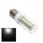 Gotrade GB22 E27 6W 280lm 6500K 42-SMD 5730 LED White Light Bulb - White + Sliver (AC 220~240V)