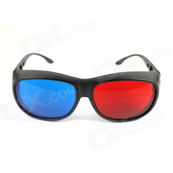 PVC 3D Glasses - Red + Blue + Grey