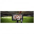 "LED901 Portable DVB-T2 9"" TFT LED HD TV - Black"