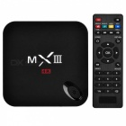MXIII 4K-Quad-Core-Android 4.4.2 Google TV Player w / 2 GB RAM, 8 GB ROM, TF, Wi-Fi, HDMI - Schwarz