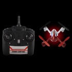 JJ5000 2.4GHz 4-CH 4-Axis Remote Control Mini Aircraft w/ Gyro - White + Red (6 x AA)