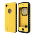 Redpepper Waterproof Protective Back Case w/ Metalic Speaker Design for IPHONE 5C - Yellow