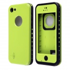 Redpepper Ultra-Thin Waterproof Back Case w/ Speaker Protective Design for IPHONE 5C - Green