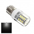 K098 E27 4W 160lm 24-SMD 5730 LED Cool White Corn Lamp (AC 220~240V)
