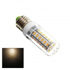 GB2 E27 6W 290lm 3000K 42-SMD 5730 LED Warm White Light Bulb - White + Sliver (AC 220~240V)