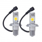 MELEA H4 24W 1800lm 3500K Cree CXA1512 Warm White Light Car Headlamp (2 PCS)