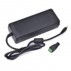 Xinyuanyang GM072450U 3-Round-Pin 24V 5A Power Adapter for CCTV Camera - Black (110cm-Cable)