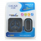 CACAZI 9909 Water-resistant Wireless AC Digital Remote Control Home Doorbell - Black