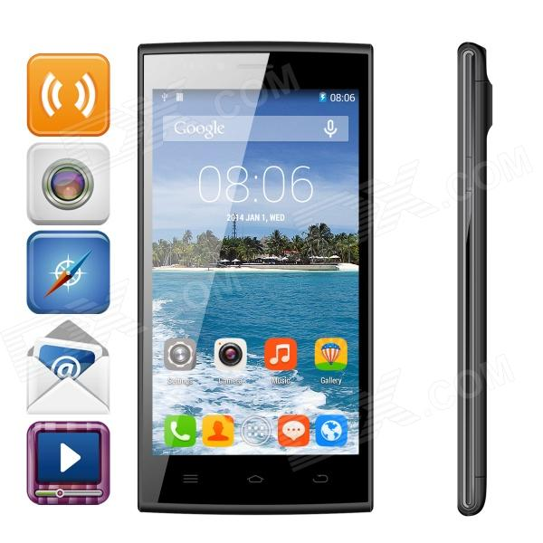 THL T6S MTK6582M Quad-Core Android 4.4 Phone w/ 5.0 IPS, 8GB ROM, GPS, OTA - Black black new 7 85 inch regulus 2 itwgn785 tablet touch screen panel digitizer glass sensor replacement free shipping