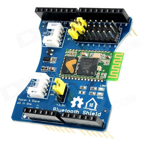 Bluetooth Shield Integration Expansion Board Module for Arduino (Works with Official Arduino Boards) gsm gprs shield wireless extension board module w antenna adapter for arduino