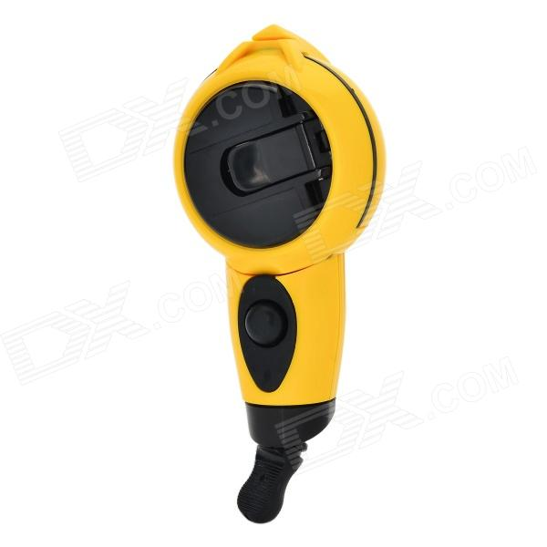 R'DEER RT-M01 Mini Handheld Manual Ink Marker - Black + Yellow