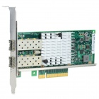 Winyao Intel JL82599ES Dual Port PCI-E 10000Mbps Network Card Adapter - Green + Multi-Color