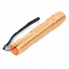 UltraFire 618 5mW 532nm Green Light Aluminum Alloy Laser Pointer Pen - Golden (1 x 18650)