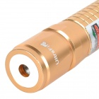 UltraFire 618 5mW 532nm Green Light alumínio liga ponteiro Caneta Laser - Golden (1 x 18650)