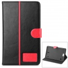 DULISIMAI Stylish Flip Open PU Case w/ Stand / Card Slots for 8.4'' Samsung Galaxy Tab S T700