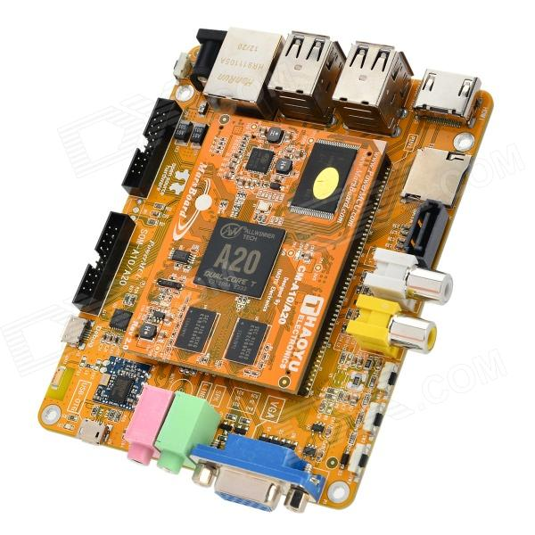 Waveshare MarsBoard A20 Cortex-A7 Dual Core Development Board Core Board Module - Yellow bernard i akhigbe development of a user centered evaluative model for ir systems