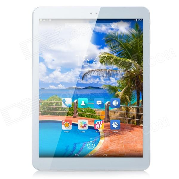 CUBE TALK9X Android 4.4 WCDMA 3G Phone MT8392 Octa-Core Tablet PC w/ 9.7, 2GB, RAM 16GB - White cube talk 9x u65gt mt8392 octa core 2 0ghz tablet pc 9 7 inch 3g phone call 2048x1536 ips 8 0mp camera 2gb 32gb android 4 2