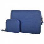 "Oushine Protective Oxford Sleeve Bag + Small Bag for 13.3"" MACBOOK AIR - Blue"
