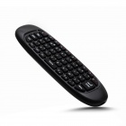 C120 2.4GHz Air Mouse + Keyboard Remote Control w/ Gyroscope for HTPC / Android Mini PC - Black