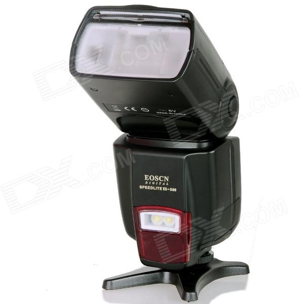 EOSCN ES-560 Universal 1000lm Speedlight w/ Fill Light Function for Canon, Nikon, Pentax, Olympus