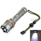 Pange 700LM Cool White XM-L T6 5-Mode Rotate Zooming 400M Range Tactical LED Flashlight (1 x 18650)